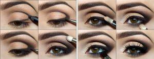 Вечерний макияж для глаз