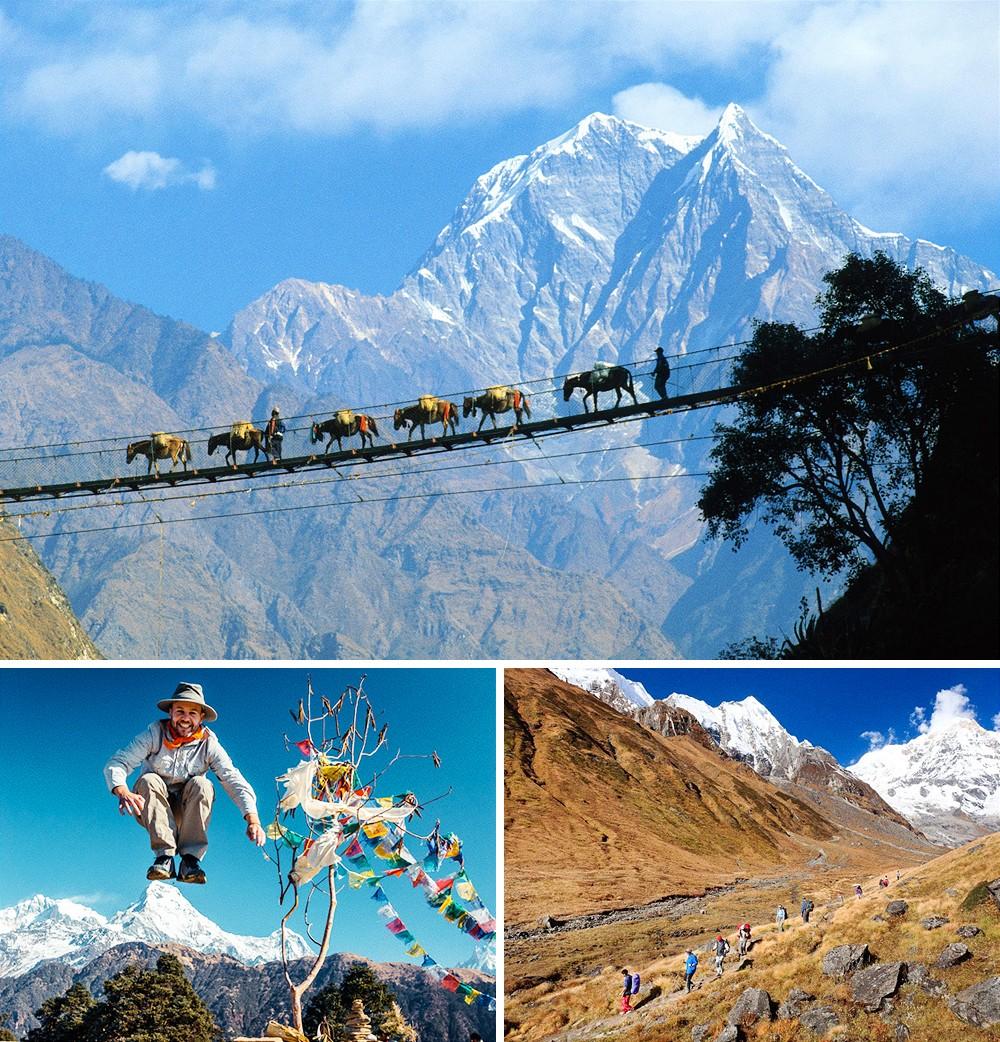 Пешеходный трек вокруг Аннапурны, Непал