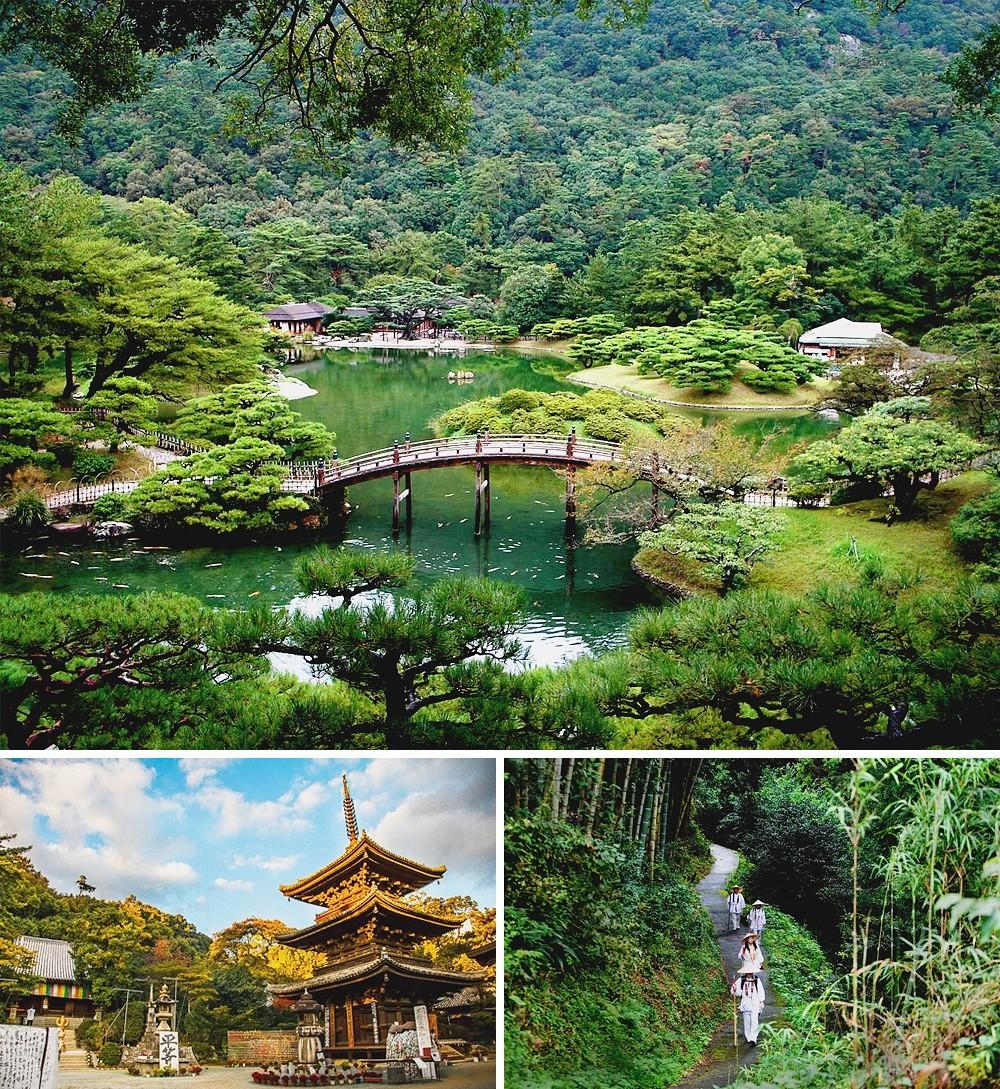 Паломнический путь Сикоку, Япония