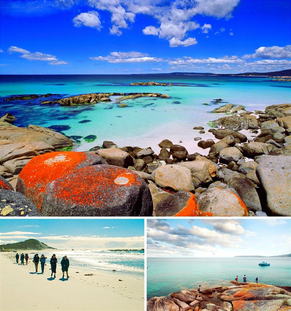 Залив огней, Австралия