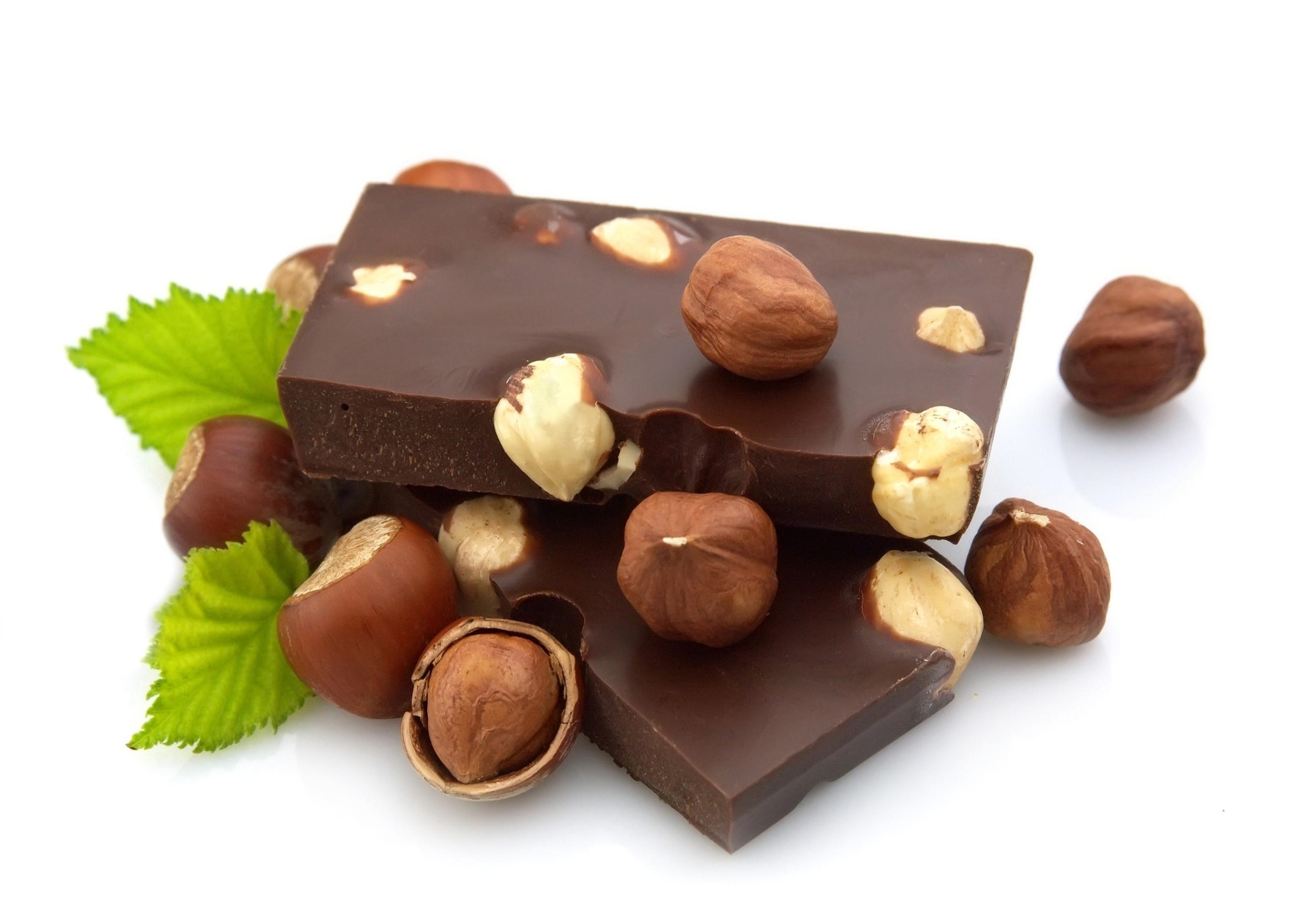 орех и шоколад - это лучший энергетик для мозга