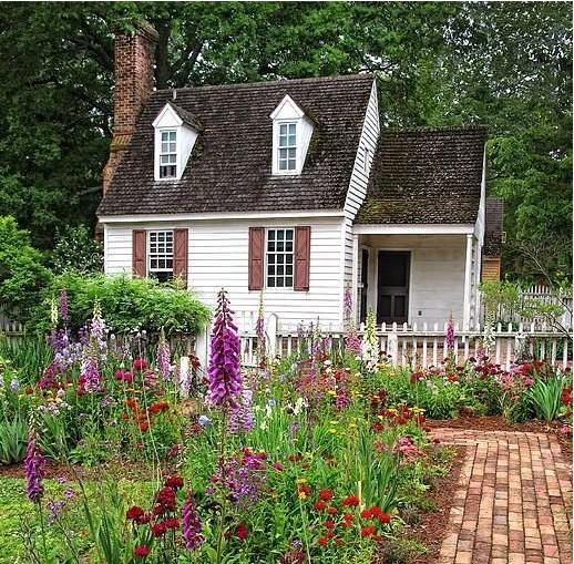 Деревенский домик для двоих