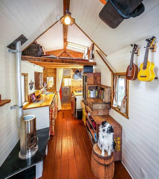 Дом на колесах - домик для двоих