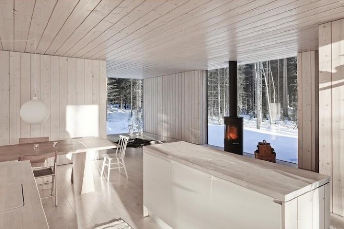 Финский коттедж - домик для двоих