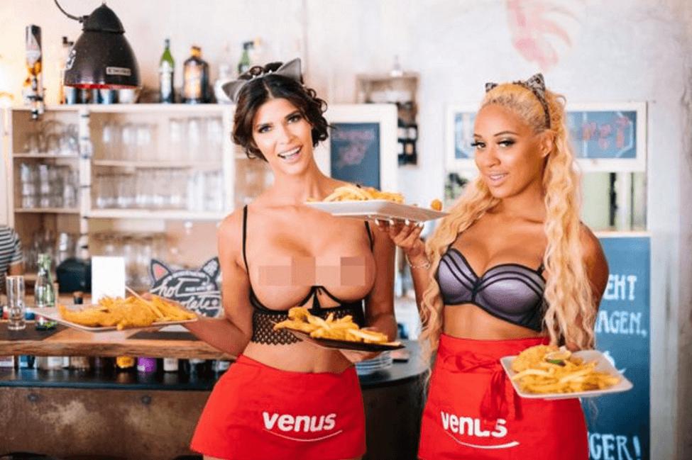 """Странный тренд в Европе: """"Ресторан для Голых"""""""